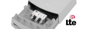 Amplificadores de mastro e filtros LTE Teka
