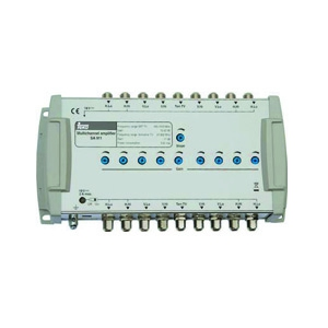 Amplificador MSW Cascata 9SAT + Terrestre Teka