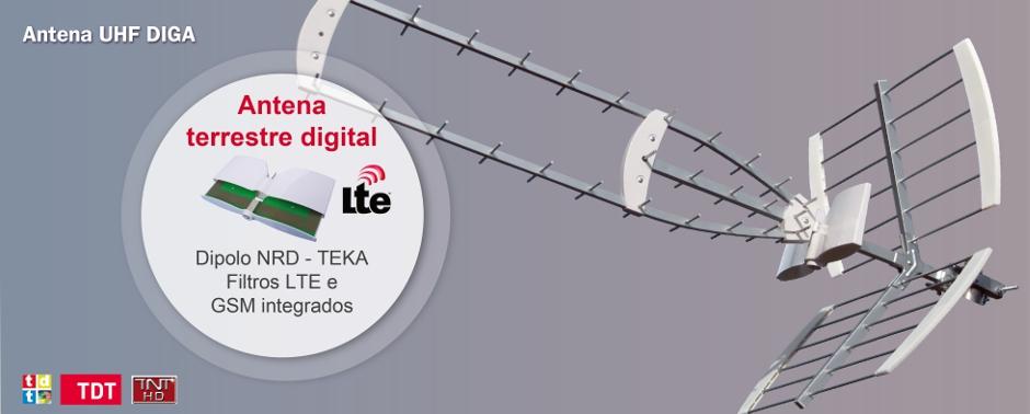 TEKA - Antena UHF TDT DIGA
